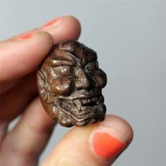 Japanese-Shishiguchi-Lions-Mouth-Noh-Mask-Iron-Wood-Netsuke-ojime-bead