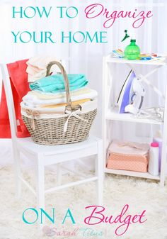 I am obsessed with organizing, but I'm not about to go out and spend a fortune doing it. Here are the best ways to organize your home on a budget without sacrificing quality!
