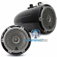 "M770-ETXv2-CG-TB - JL Audio 7.7"" 2-Way Enclosed Tower Marine Coaxial Speakers (Titanium Black) by JL Audio. $699.99"