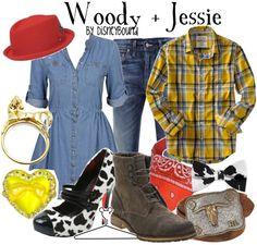 Woody and Jessie~Disney Bound