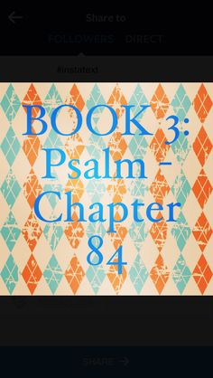"Bible Devotion: Psalm 84 Theme: God's living presence is our greatest joy. His radiant presence helps us grow in strength, grace, and glory.  Verses I highlighted: 1, 2, 4, 10-12 (excerpt) ""How lovely is your dwelling place, Lord Almighty! My soul yearns, even faints, for the courts of the Lord; my heart and my flesh cry out for the living God...Better is one day in your courts than a thousand elsewhere... Lord Almighty, blessed is the one who trusts in you.""…"