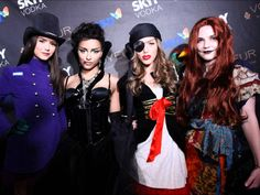 Kayla Ewell, Katerina Graham, Nina Dobrev, Sara Canning at Heidi Klums Halloween Party - Today's Evil Beet Gossip Vampire Diaries Rebekah, Vampire Diaries Poster, Vampire Diaries Wallpaper, Vampire Diaries Quotes, Vampire Diaries The Originals, Ian Somerhalder, Nina Dobrev, Sara Canning, Vampire Diaries Jewelry