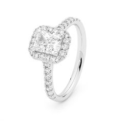 Stunning Emerald Cut available at W.J. Coote & Sons wjcoote.com