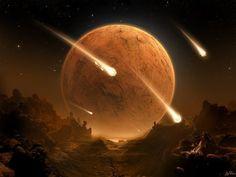 Dark Times Falling Meteors -