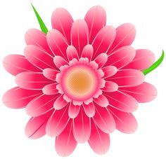 Transparent Pink Flower Clipart PNG Image