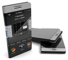 Wrap-around Concept BlackBerry Smartphone