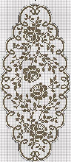 Watch The Video Splendid Crochet a Puff Flower Ideas. Phenomenal Crochet a Puff Flower Ideas. Filet Crochet Charts, Crochet Motifs, Crochet Cross, Crochet Diagram, Crochet Art, Crochet Home, Thread Crochet, Crochet Stitches, Crochet Puff Flower
