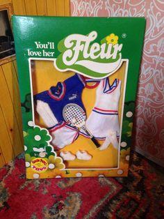 Vintage Fleur Doll Boxed Outfit Puma Tennis Set **wow** | eBay