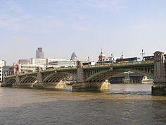 Southwark Bridge, London LUTHER