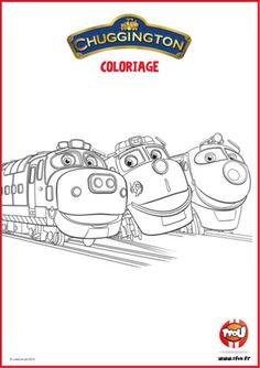 Chuggington coloring pages koko for kids printable free - Chuggington tfou ...