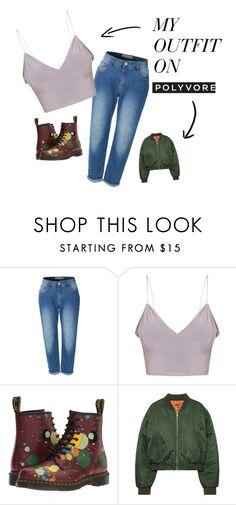 """""""ken"""" by iamzzzhrrr on Polyvore featuring мода, LE3NO и Dr. Martens"""