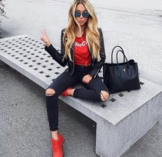 Pin by Tatiana on Moda in 2019 Mode Outfits, Stylish Outfits, Fashion Outfits, Womens Fashion, Fashion Heels, Fashion Clothes, Fall Winter Outfits, Summer Outfits, Summer Shorts