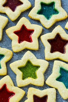 Stained Glass Window Cookies are the ultimate Christmas cookie!