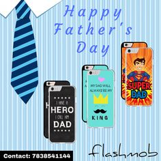My Father, My Hero, My Superman !  This Father's Day show your gratitude to your hero with Flashmob Printed Covers.  Available for more than 40 models. GRAB NOW !!  For orders contact : 7838541144