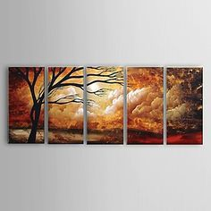 【今だけ☆送料無料】 アートパネル  自然・風景画1枚で1セット 雲 木 景色 茜色【納期】お取り寄せ2~3週間前後で発送予定