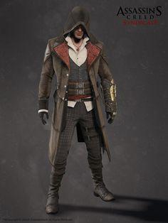 ArtStation - Assassin's Creed Syndicate - Jacob Frye - Gunslinger Outfit, Hugues Thibodeau