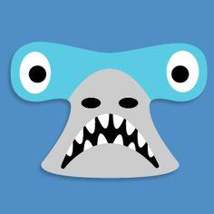 New Hammerhead Shark Printable Mask from Masketeers