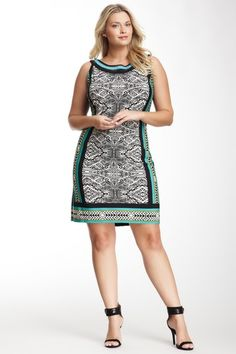 Sandra Darren Sleeveless Printed Dress by Sandra Darren on @HauteLook
