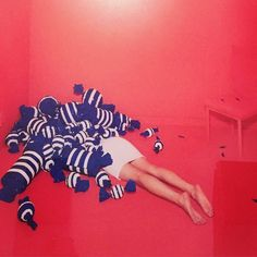 Current Mood. Korean artist Jee Young Lee..............#rebelheart @waterfall mansions by madonna