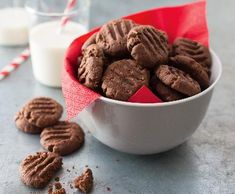 Koka sušenky | Recepty Albert Almond, Cookies, Food, Crack Crackers, Biscuits, Essen, Almond Joy, Meals, Cookie Recipes