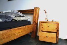 Schmuckstück Im Schlafzimmer   Altholz   Nachttisch Von Woodesign