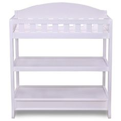 Diapering Change Table Baby Furniture Changing Table Pad Nursery Infant White  #Delta