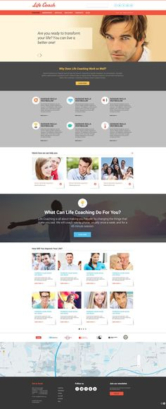 Website Theme , Life Coach