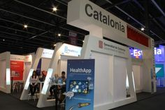 #Catalan Government pavilions at last #MWC2016 edition in #Barcelona