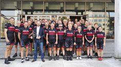 Havde fornøjelsen af at deltage på sidste etape (fra Sdr. Hostrup) i Wroclav-Aarhus turen, hvor Connecting Biz & Bike havde arrangeret , at en gruppe cyklede fra Wroclav til Aarhus for at markere, at Aarhus i 2017 efterfølger Wroclav som Europæisk Kulturhovedstad. (Jo - jeg er på billedet - lige bag Jacob Bundgaard)