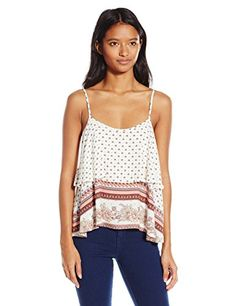 O'Neill Junior's Darby Printed Tank Top, Naked, Small O'N...