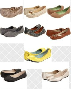 Women's Shoe rules : How to pick stylish and wearable Flats.