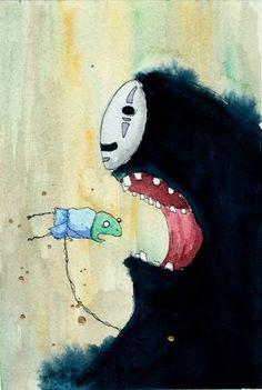 No Face - Spirited Away Movie