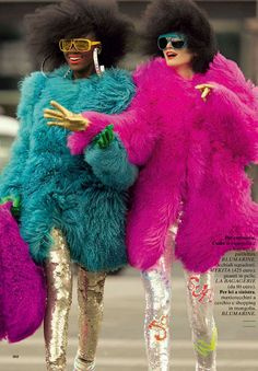 It's a Fashion Walk-Off in 'Let's Go' Glamour It by Hans Feurer | fashionCOW