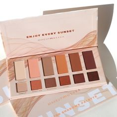 Sunset Heated Shadows Palette - MakeupMekka Mekka, Shadows, Palette, Eyeshadow, Sunset, Makeup, Make Up, Darkness, Eye Shadow
