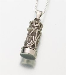 Beautiful Urn pendant. For more information visit www.sussexfunerals.com