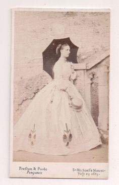 Vintage CDV Princess Alexandra of Denmark Queen of England Preston & Poole Photo