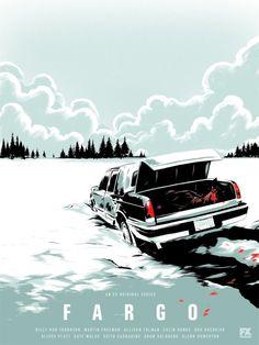 Fargo The Series Fargo Tv Show, Fargo Tv Series, Norman Rockwell, Gravure Illustration, I Love Cinema, Grand Budapest Hotel, Movies And Series, Kino Film, Movie Posters