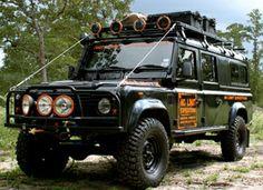 Land Rover Defender 130 Station Wagon.