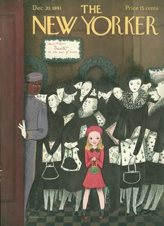 New Yorker Christmas Covers, Then and Now | The New Yorker