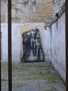 Les Tags, les graffitis - Ernest Pignon-Ernest