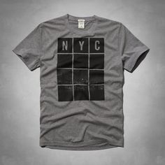 Mens - NYC Photoreal Graphic Tee | Mens - Graphic Tees | eu.Abercrombie.com