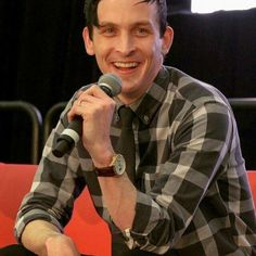 That smile!!! Robin Lord Taylor
