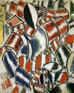 The Sitted Woman by @artistleger #tubism #fineart