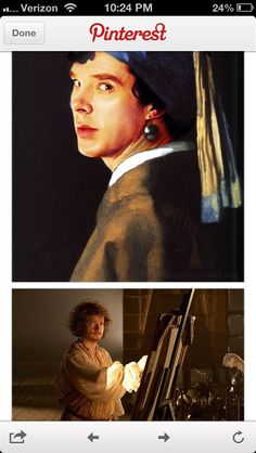 """Fandom, what are you doing???"" - What ARE you doing??!  Although, combining Benedict and classical art.  Can't say I object.  Carry on. ;P"