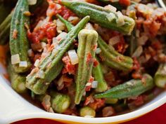 Spiced Okra and Tomatoes / Down-Home Comfort Virginia Willis
