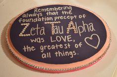 big little crafts   zeta zta zeta tau alpha big little sorority craft