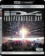 I.D.4 INDEPENDENCE DAY 20TH ANNIVERSARY EDITION ULTRA HD BLU-RAY 4K / BLU-RAY DISC HIGH DEFINITION / DIGITAL HD ULTRAVIOLET