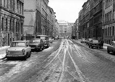 BERLIN - Prenzlauer Berg 1983 Lottumstrasse (noch zu DDR-Zeiten). A picture of East-Berlin during communism days - I'm sure it looks different today !