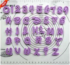 Barato 36 PCS Fondant ferramentas de decoração do bolo fonte cortador de alfabeto número Letters Cutter set cookies cortador grátis frete, Compro Qualidade Forma de bolo diretamente de fornecedores da China: 36 pcs bolo fondant ferramentas decoração disney alfabeto fonte número de cartas conjunto cortador36 pcs bolo fond