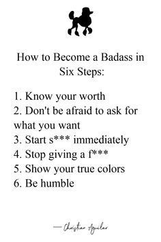 Being rich, famous, or popular doesn't mean you are a badass. Learn how YOU can become a badass in six steps. Bad Girl Quotes, Sassy Quotes, True Quotes, Woman Quotes, Quotes To Live By, Quotes Girls, Boss Bitch Quotes, Gangsta Quotes, Badass Aesthetic